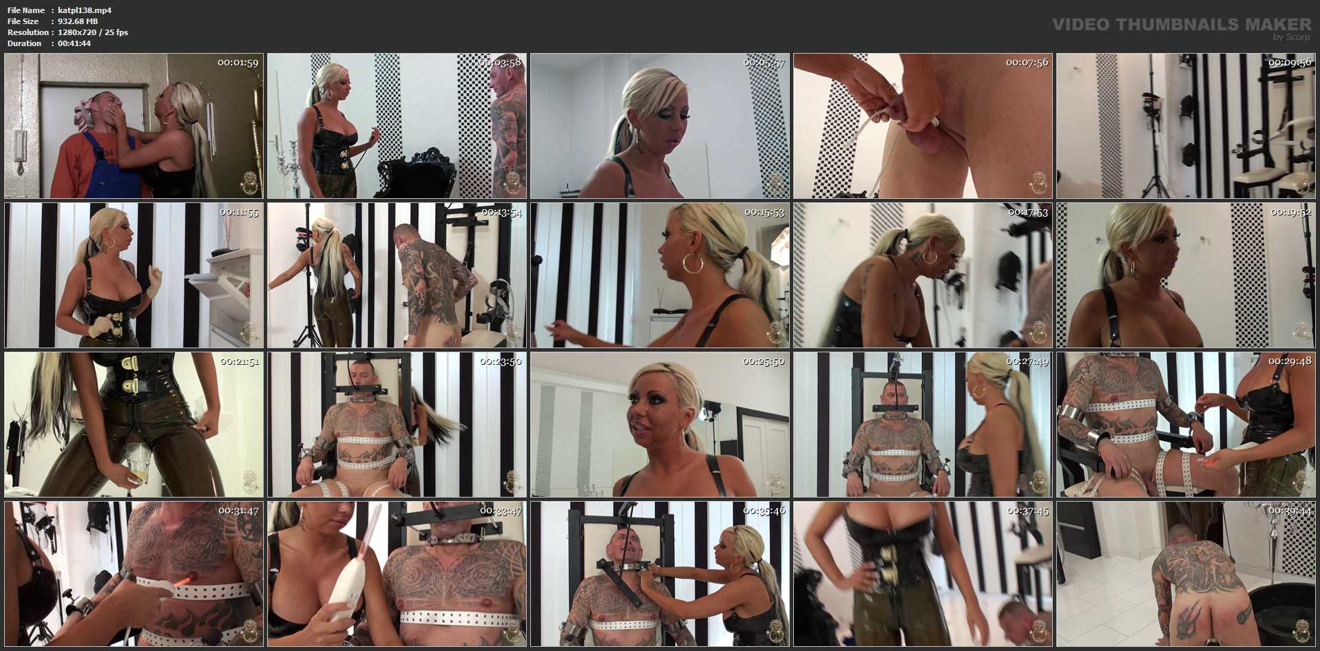 DOMINA KATE In Scene: Bill-paying Time - KATES-PALACE - HD/720p/MP4