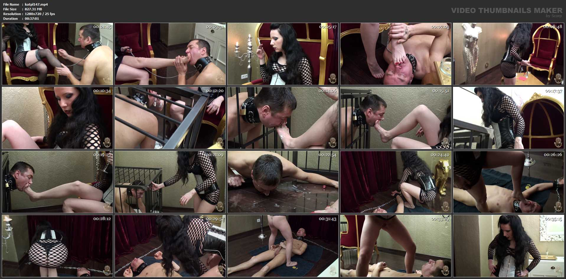 LADY LARA In Scene: FeeTish Dinner - KATES-PALACE - HD/720p/MP4