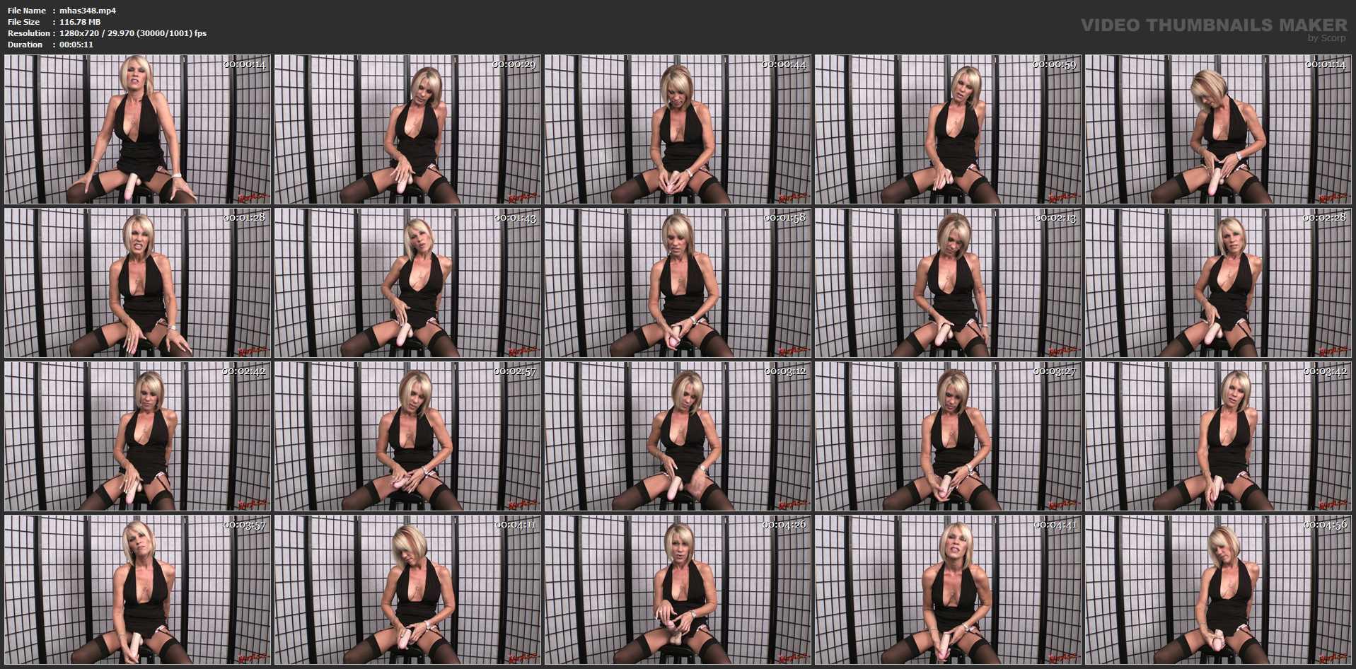 Nikki Ashton In Scene: You Dream of My Strapon Cock - MYHOTASS - HD/720p/MP4