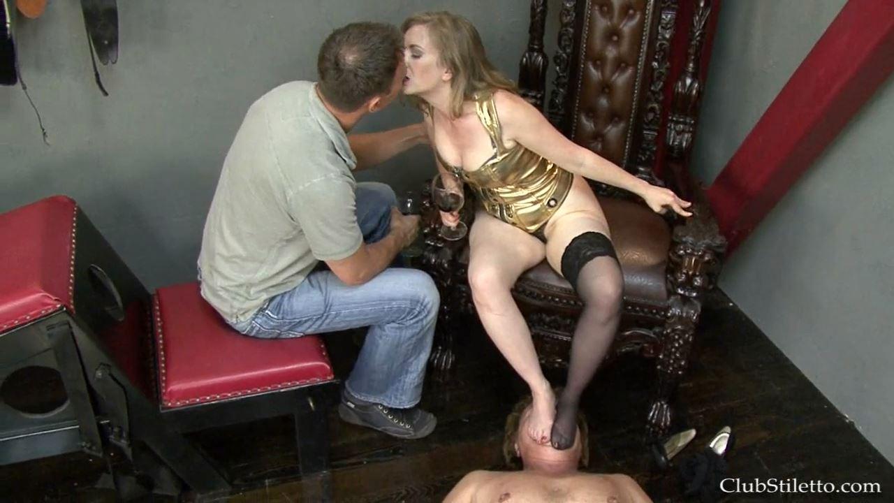 Mistress T In Scene: Total Foot embarrassment - CLUBSTILETTO - HD/720p/MP4
