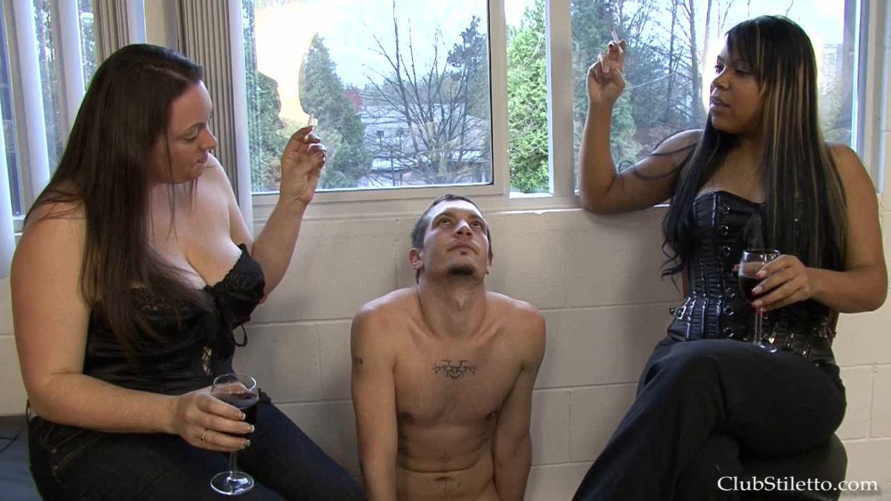 Mistress Roxy, Mistress Riley In Scene: Shoot Break Ashtray - CLUBSTILETTO - HD/720p/MP4