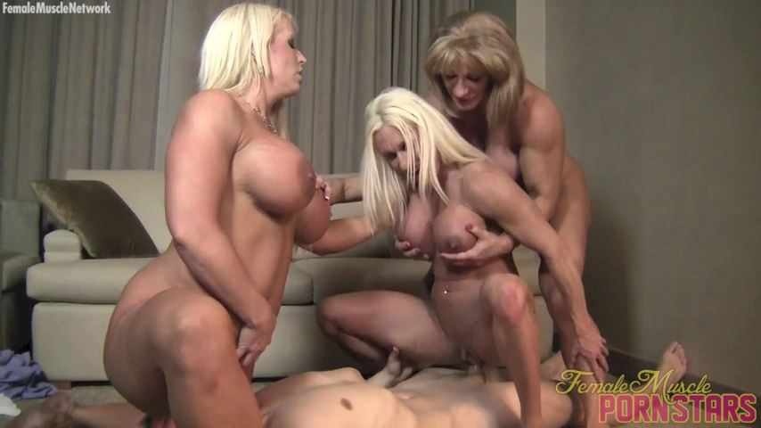 Amazon Alura, Ashlee Chambers, Wild Kat In Scene: Group Grope - FEMALEMUSCLEPORNSTARS / FEMALEMUSCLENETWORK - SD/480p/MP4