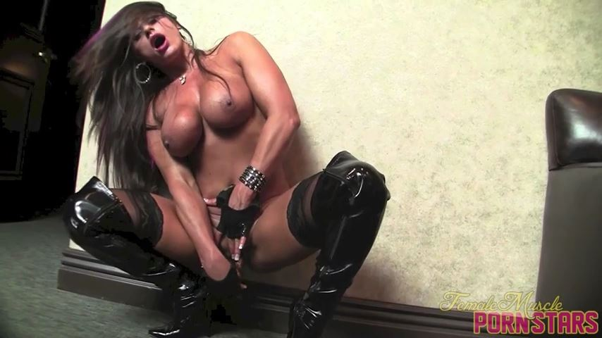 Nikki Jackson In Scene: Fuck My Hole - FEMALEMUSCLEPORNSTARS / FEMALEMUSCLENETWORK - SD/480p/MP4