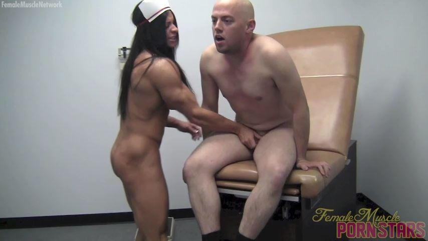 Angela Salvagno In Scene: Let's Get Physical - FEMALEMUSCLEPORNSTARS / FEMALEMUSCLENETWORK - SD/480p/MP4