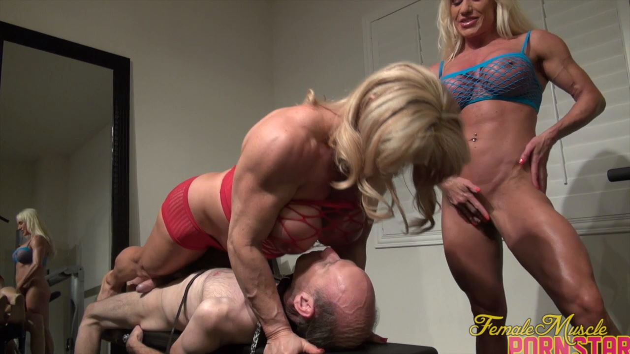 Ashlee Chambers, Wild Kat In Scene: It's A Threesome. With A Twosome In Charge - FEMALEMUSCLEPORNSTARS / FEMALEMUSCLENETWORK - HD/720p/MP4