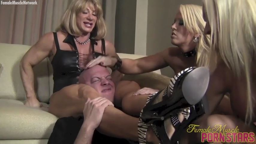 Amazon Alura, Ashlee Chambers, Wild Kat In Scene: Teach Him A Lesson - FEMALEMUSCLEPORNSTARS / FEMALEMUSCLENETWORK - SD/480p/MP4