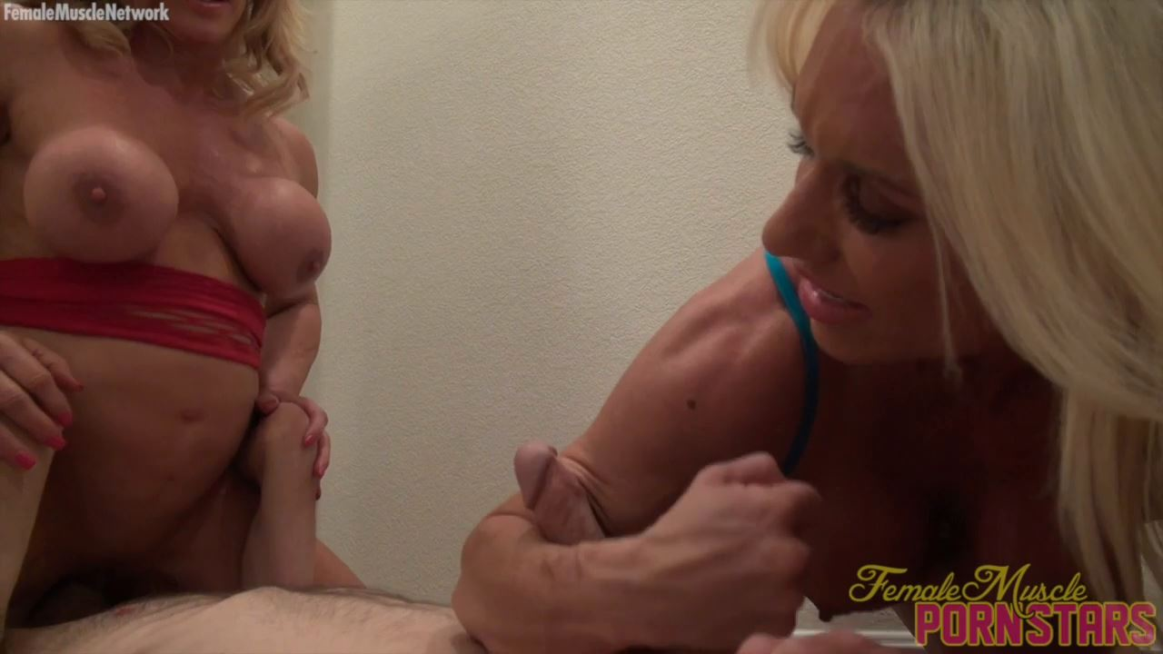 Ashlee Chambers and Wild Kat - FEMALEMUSCLEPORNSTARS / FEMALEMUSCLENETWORK - HD/720p/MP4