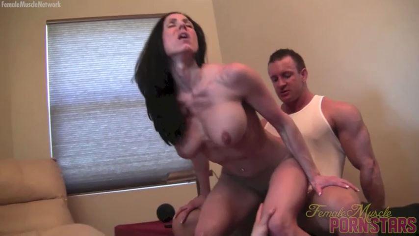 Kendra Lust In Scene: One Her. Two Hims. Lots Of Lust - FEMALEMUSCLEPORNSTARS / FEMALEMUSCLENETWORK - SD/480p/MP4