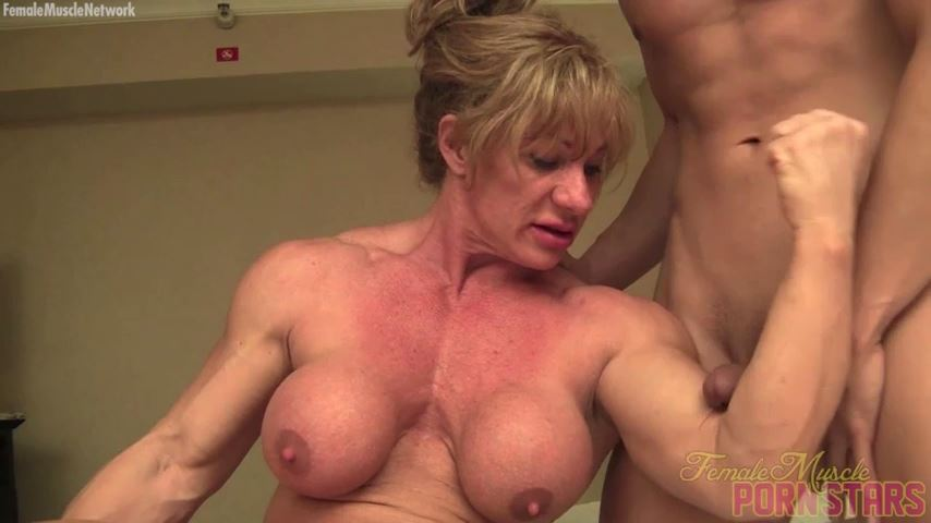 Wild Kat In Scene: He'll Never Forget His First. You Won't Either - FEMALEMUSCLEPORNSTARS / FEMALEMUSCLENETWORK - SD/480p/MP4