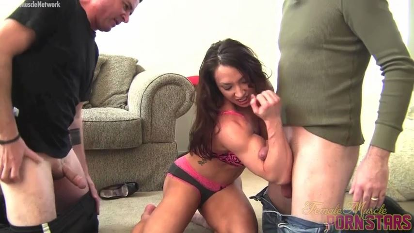 BrandiMae In Scene: Don't Try To Rob A Female Muscle Girl. You'll Get Hurt - FEMALEMUSCLEPORNSTARS / FEMALEMUSCLENETWORK - SD/480p/MP4