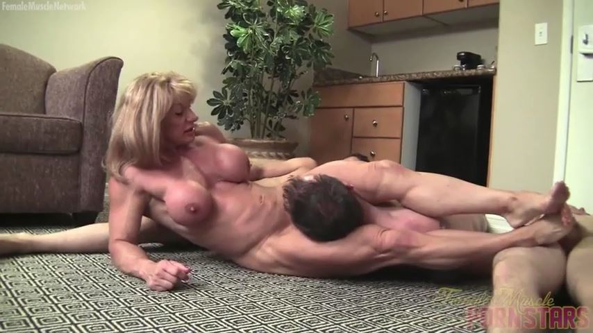 Wild Kat In Scene: Three Of Them. One Of Her. She Wins - FEMALEMUSCLEPORNSTARS / FEMALEMUSCLENETWORK - SD/480p/MP4