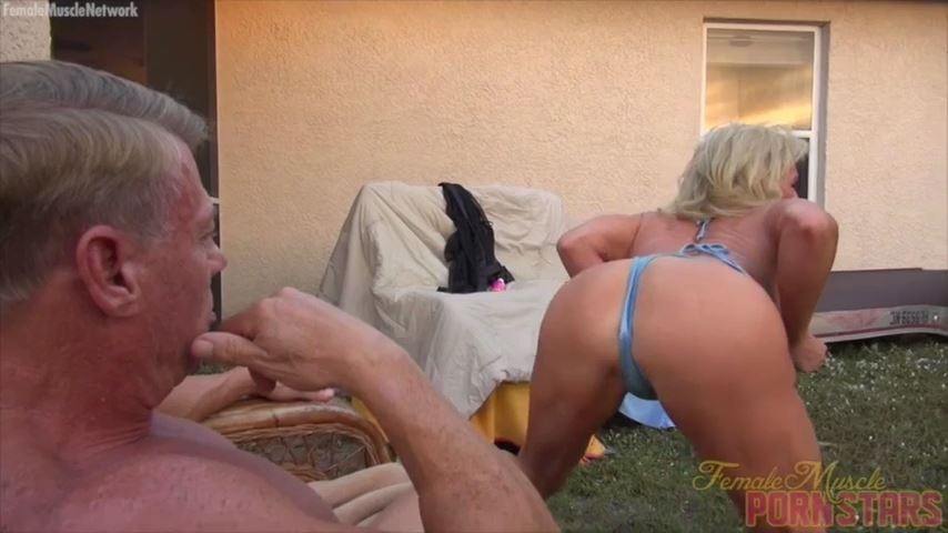 Mandy Foxx In Scene: What Does The Foxx Say - FEMALEMUSCLEPORNSTARS / FEMALEMUSCLENETWORK - SD/480p/MP4