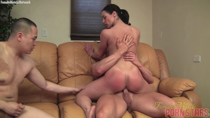 Kendra Lust In Scene: Lust For Three - FEMALEMUSCLEPORNSTARS / FEMALEMUSCLENETWORK - SD/480p/MP4
