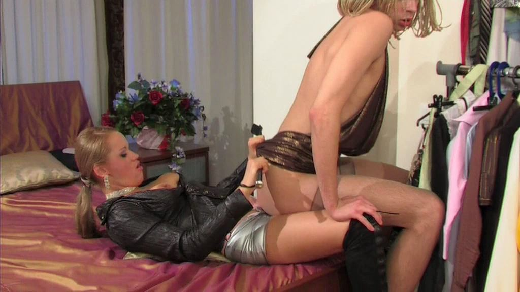 Beau, Joan In Scene: Spoilt girl bangs a submissive sissy - MYSISSYBOYFRIEND - SD/576p/MP4