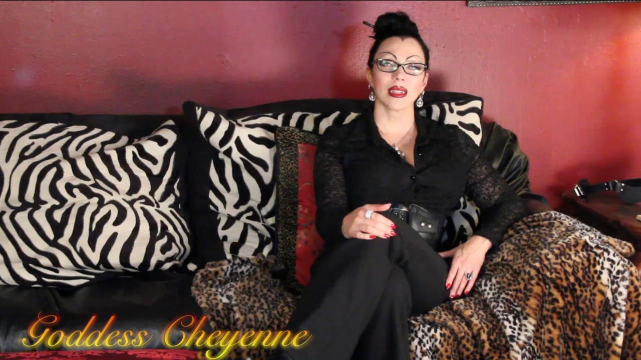 Goddess Cheyenne In Scene: My Therapist is a Vampire - OPULENTFETISH / GODDESSCHEYENNE - HD/720p/MP4