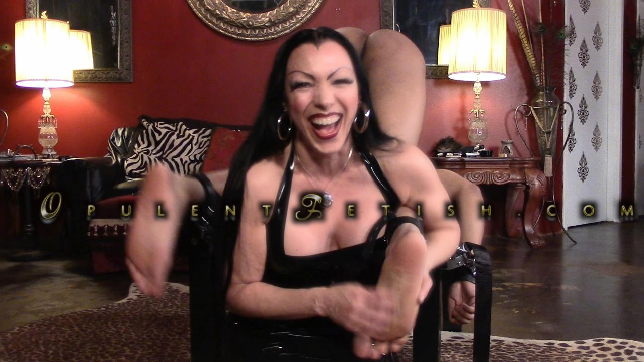 Goddess Cheyenne In Scene: Object of Tickle Torture - OPULENTFETISH / GODDESSCHEYENNE - HD/720p/MP4