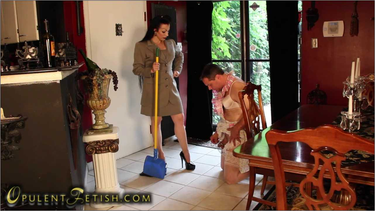 Goddess Cheyenne In Scene: Sissy Maid Servitude - OPULENTFETISH / GODDESSCHEYENNE - HD/720p/MP4