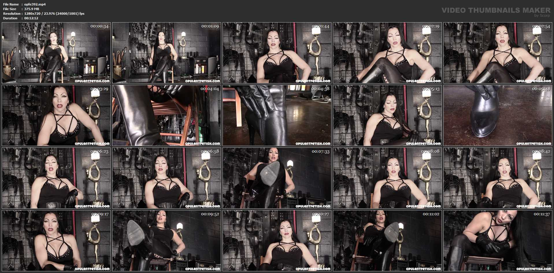 Goddess Cheyenne In Scene: Slave to My Soles - OPULENTFETISH / GODDESSCHEYENNE - HD/720p/MP4