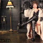 Goddess Cheyenne In Scene: Smoking Venus in Furs – OPULENTFETISH / GODDESSCHEYENNE – HD/720p/MP4