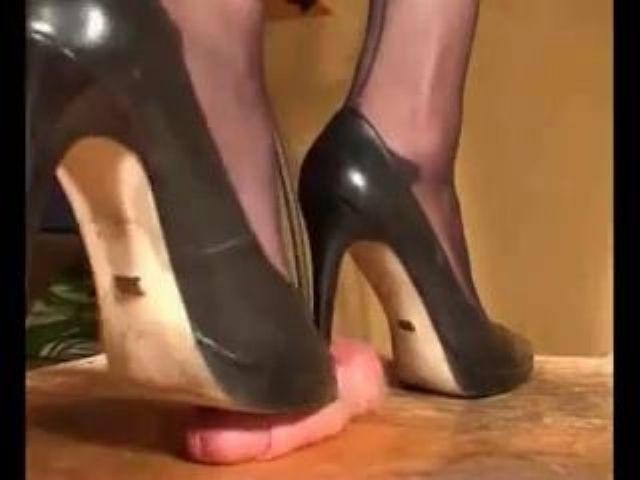cock spiked heel