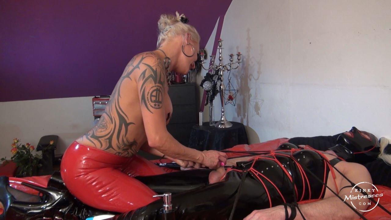 Mistress Amira In Scene: Mistress Amira Teases Your Cock - KINKYMISTRESSES - HD/720p/MP4
