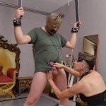 Mistress Era In Scene: Military �Camouflage� Ballbustin – PANDORAERA – FULL HD/1080p/MP4