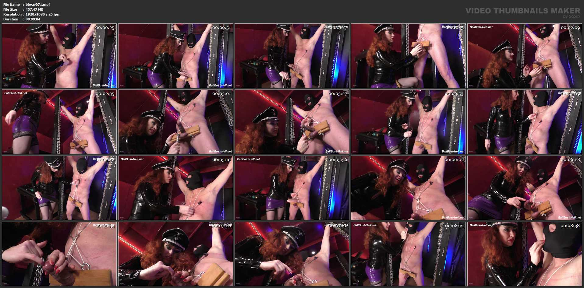 Mistress Lady Renee In Scene: CBT at the poles - MISTRESSLADYRENEE - FULL HD/1080p/MP4