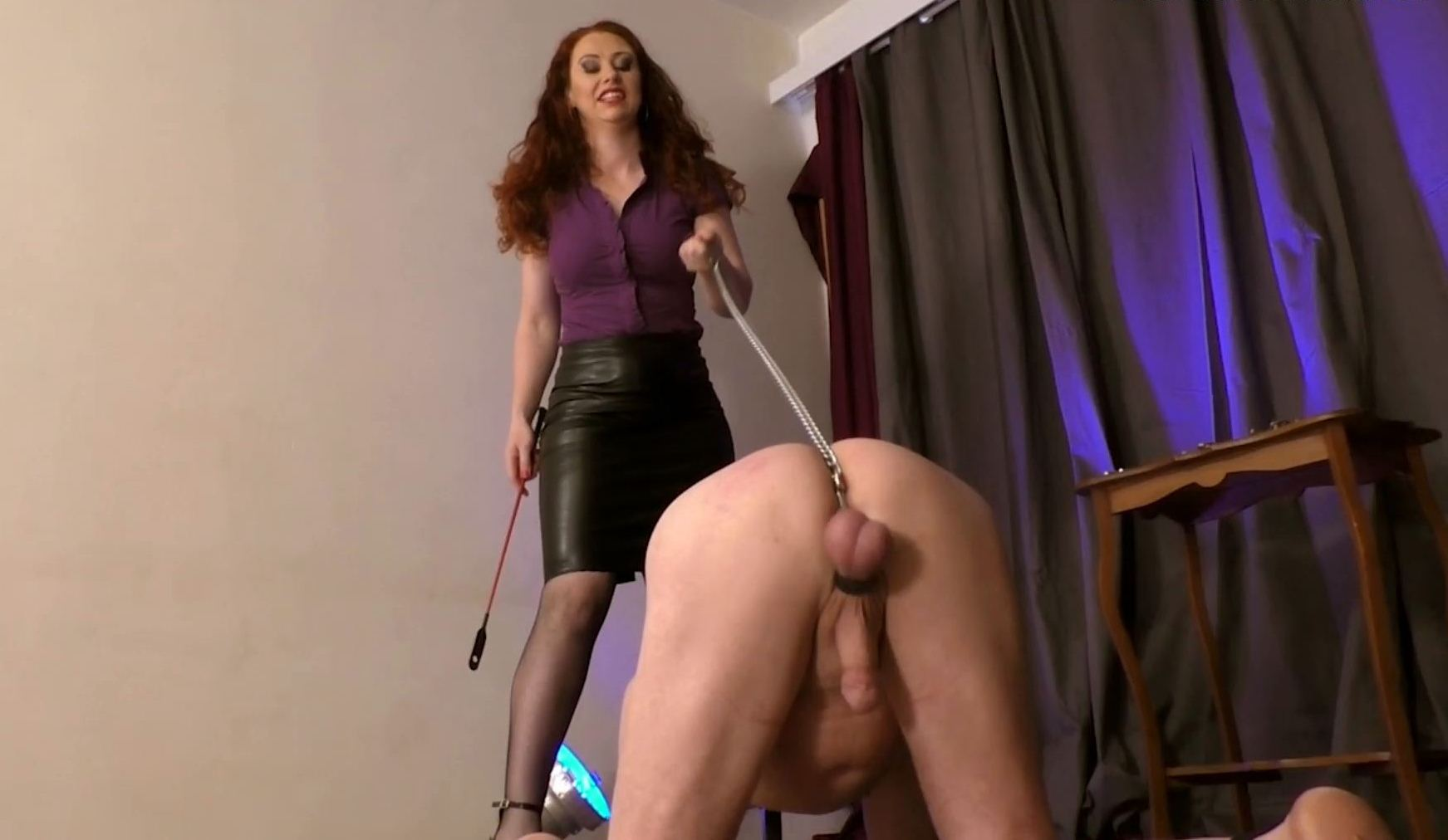 Mistress Lady Renee In Scene: Sack Stimulation - MISTRESSLADYRENEE - FULL HD/1080p/MP4