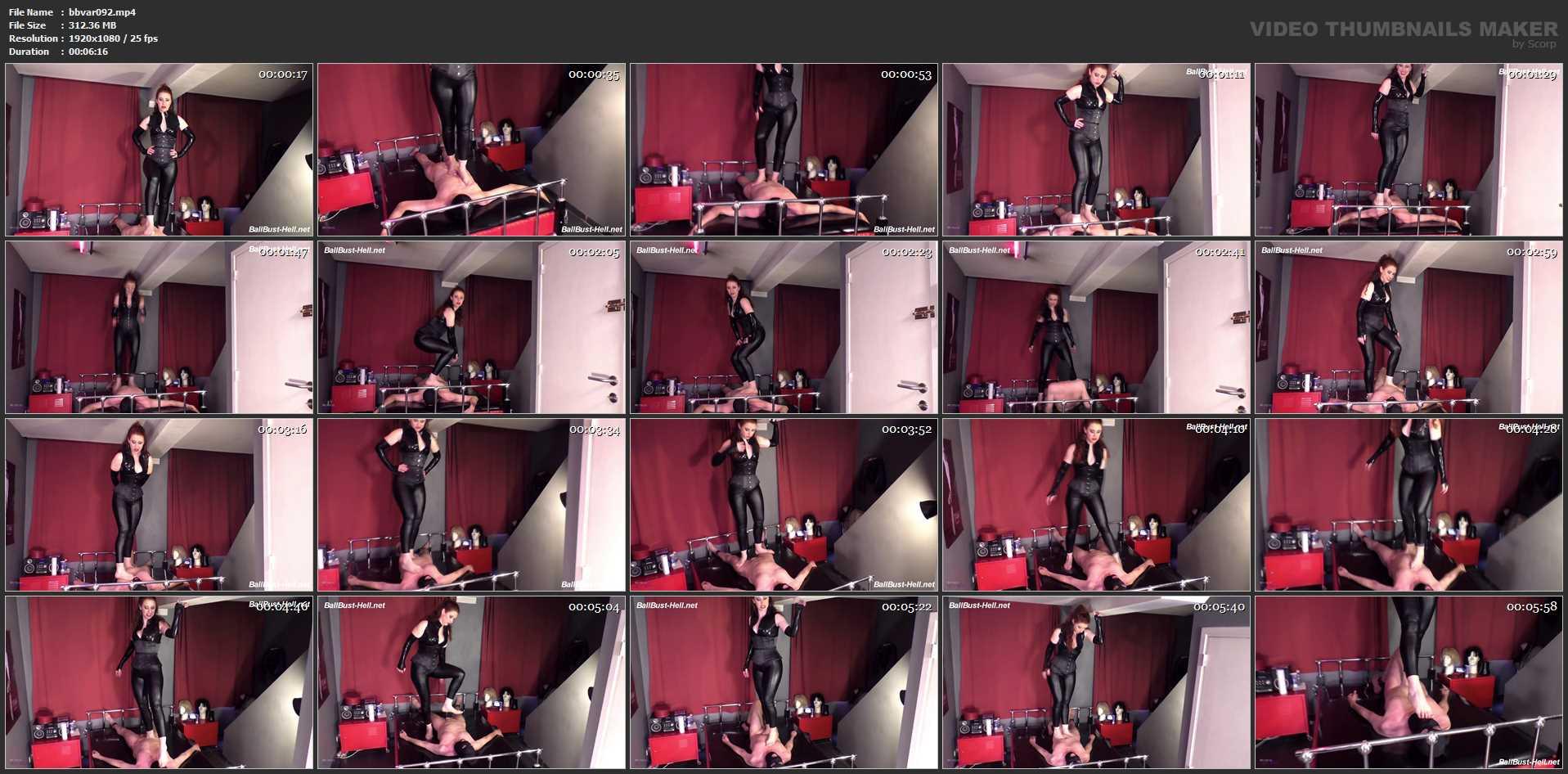 Mistress Lady Renee In Scene: Barefoot trampling - MISTRESSLADYRENEE - FULL HD/1080p/MP4