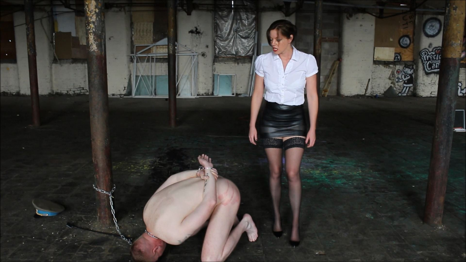 Chained Whipped And Slapped - THEBRITISHINSTITUTION - FULL HD/1080p/MP4