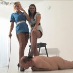 Lucy Zara, Mistress Amberleigh In Scene: Down He Goes Part 2 – THEBRITISHINSTITUTION – HD/720p/MP4