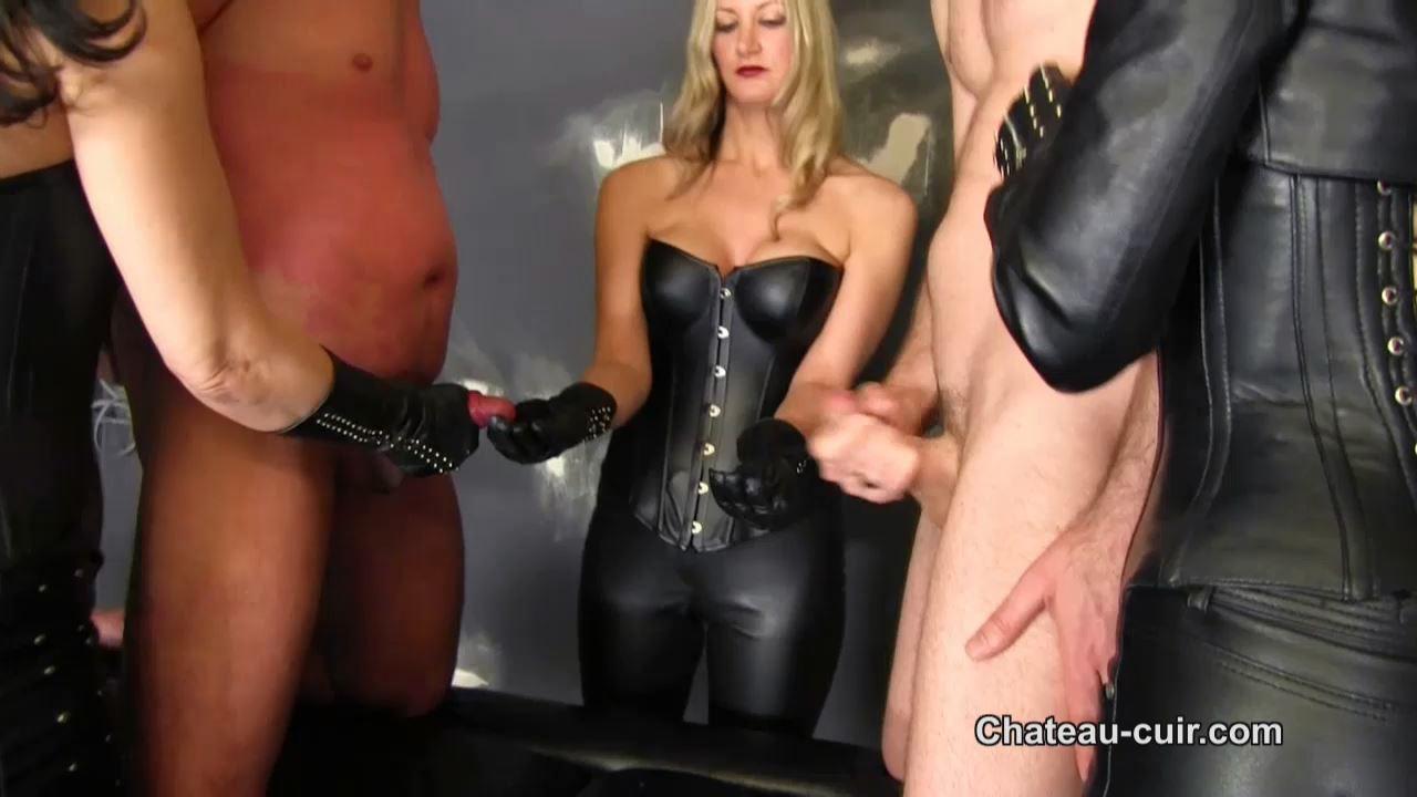 Fetish Liza, Nikki Whiplash, Miss Velour In Scene: Bi enforced handjob - CHATEAU-CIUR - HD/720p/MP4