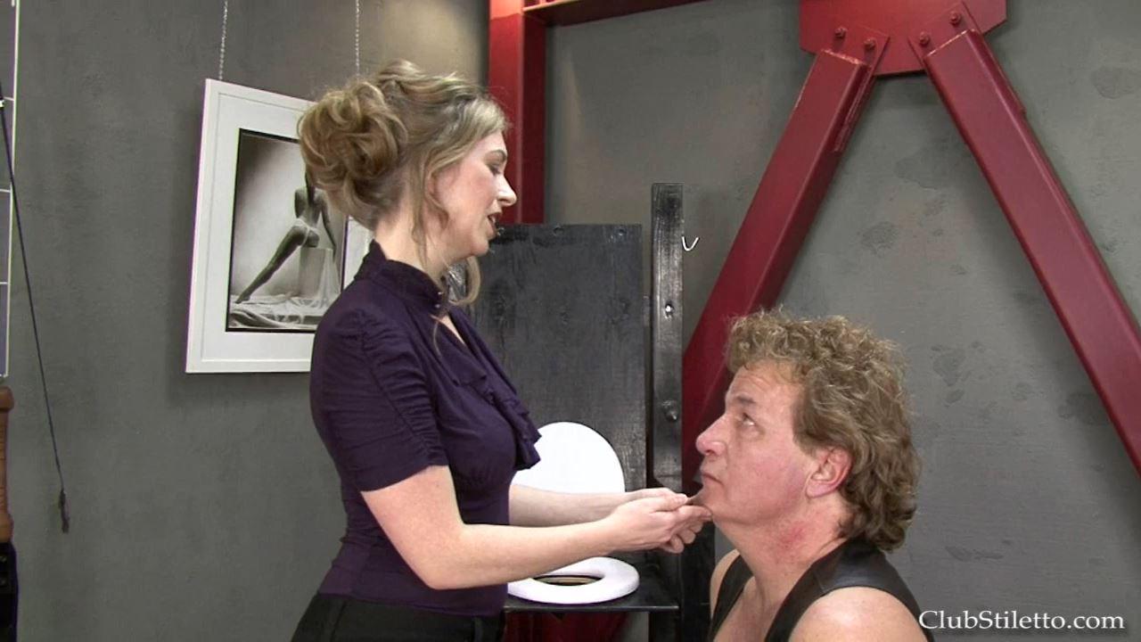 Mistress T In Scene: Slapping the Fool - CLUBSTILETTO - HD/720p/MP4