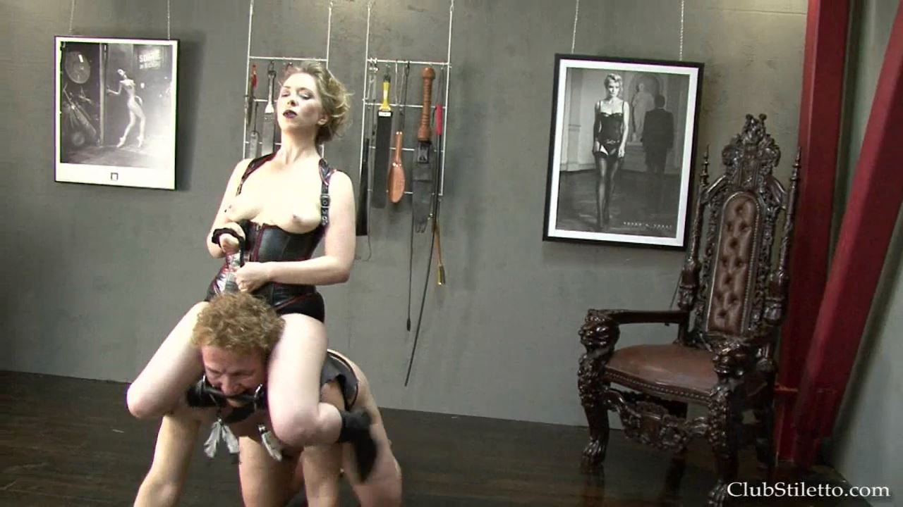 Mistress T In Scene: Pony Boot Camp - CLUBSTILETTO - HD/720p/MP4