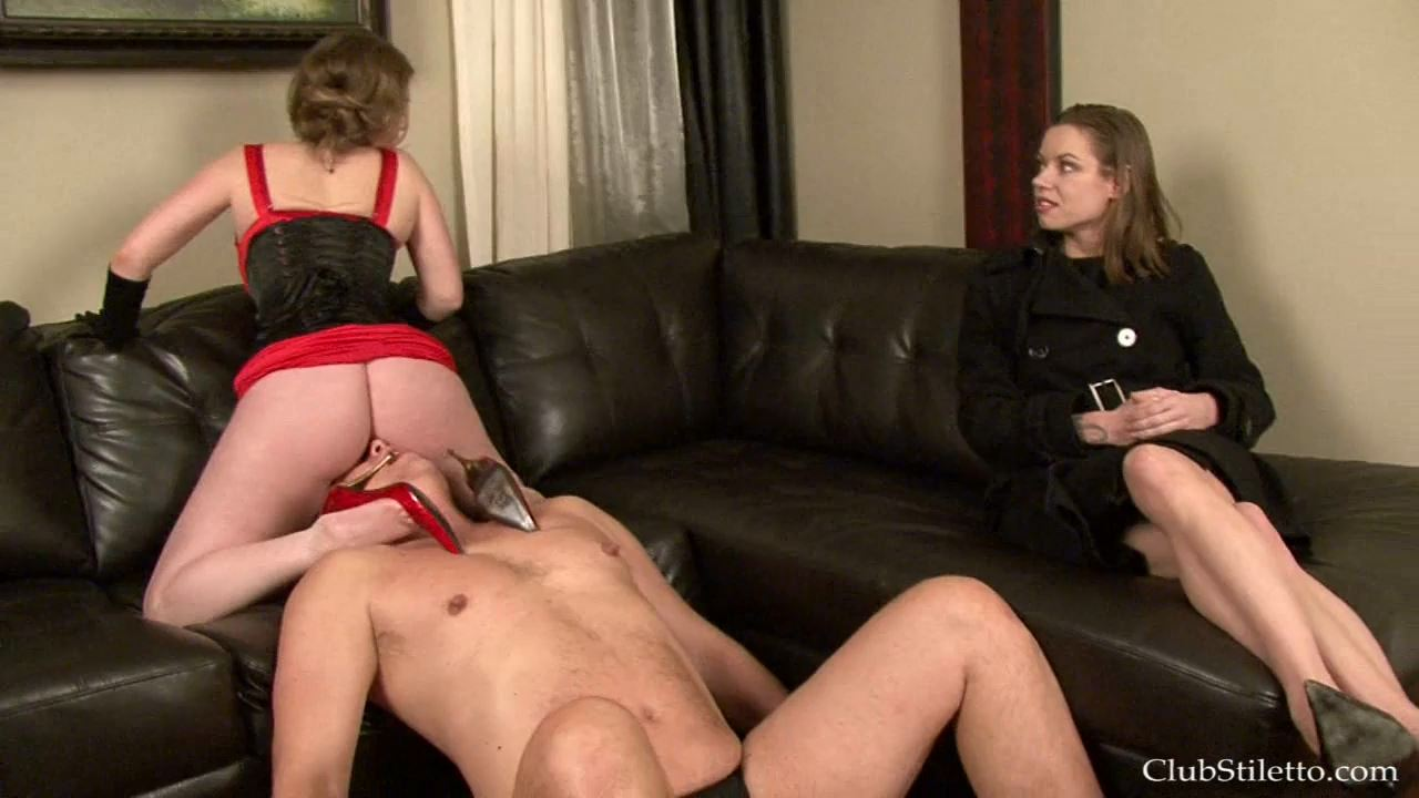 Mistress T, Mistress Bijou Steal In Scene: Devotion to My Caviar 9 - CLUBSTILETTO - HD/720p/MP4