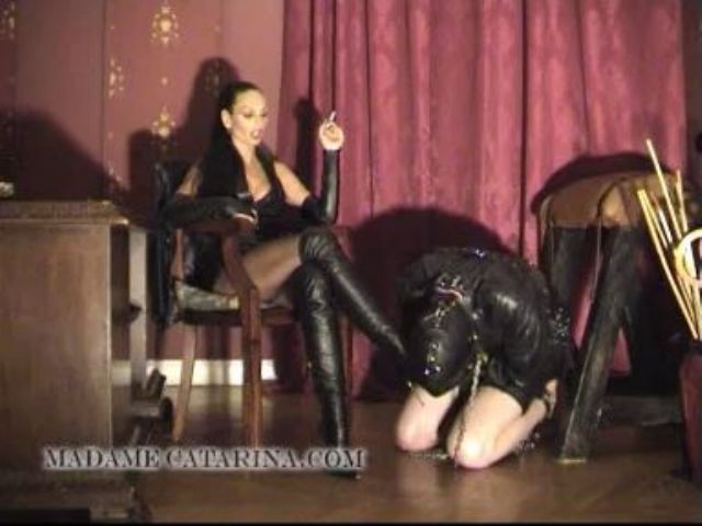 Madame Catarina In Scene: THREE TIMES BLOW - DOMINA-MOVIES - LQ/288p/MP4