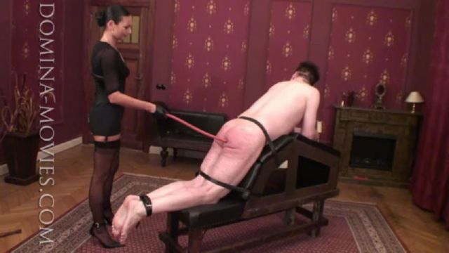 Madame Catarina In Scene: TRAINING FOR CANING - DOMINA-MOVIES - SD/480p/MP4