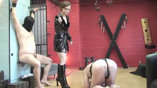 Slobbering Fido gets punished - ERONITE-FEMDOM - LQ/360p/MP4