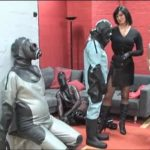 Lady Joy van Doren, Annika Bond In Scene: Packed up air tight in latex – ERONITE-FEMDOM – LQ/360p/MP4