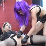 Annika Bond In Scene: Dirty Talk – Domina in rotem Latex – ERONITE-FEMDOM – LQ/360p/MP4