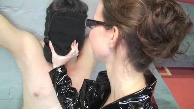 Annika Bond In Scene: Interrogation of a slave - ERONITE-FEMDOM - LQ/360p/MP4