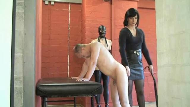 TV-Lady Joy van Doren In Scene: Brutal whip-strikes - ERONITE-FEMDOM - LQ/360p/MP4