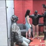 Lady Joy van Doren, Annika Bond In Scene: Breathing control with the gas mask slave – ERONITE-FEMDOM – LQ/360p/MP4