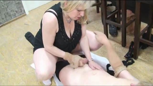 Jimmy Steiner In Scene: Cum on my nylons - ERONITE-FEMDOM - LQ/360p/MP4