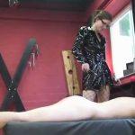 Annika Bond In Scene: Elecric current, wax and torture for the slave – ERONITE-FEMDOM – LQ/360p/MP4