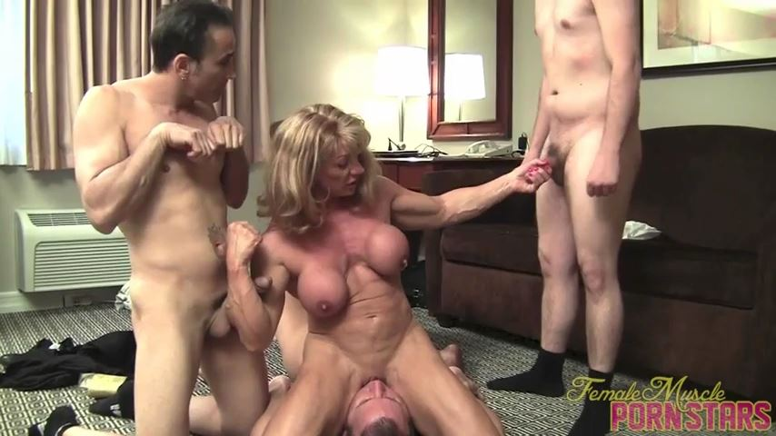 Wild Kat In Scene: The Golden Goddess - FEMALEMUSCLEPORNSTARS / FEMALEMUSCLENETWORK - SD/480p/MP4