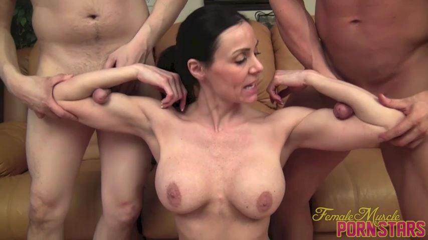 Kendra Lust In Scene: Lust For Three - FEMALEMUSCLEPORNSTARS / FEMALEMUSCLENETWORK - SD/480p/MP4