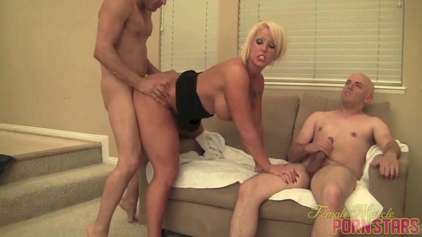 Amazon Alura In Scene: Group Grope - FEMALEMUSCLEPORNSTARS / FEMALEMUSCLENETWORK - SD/480p/MP4
