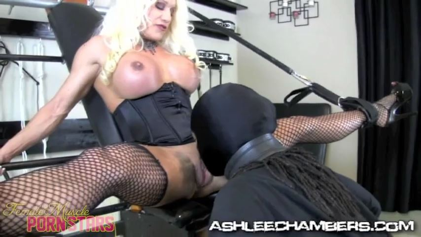 Ashlee Chambers In Scene: Big Clit Suck Slave - FEMALEMUSCLEPORNSTARS / FEMALEMUSCLENETWORK - SD/480p/MP4