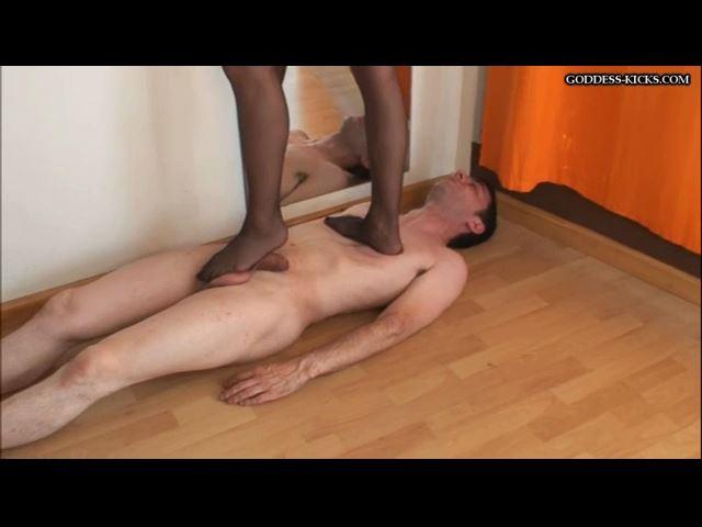 Stockings Trample - GODDESS-KICKS - SD/480p/MP4